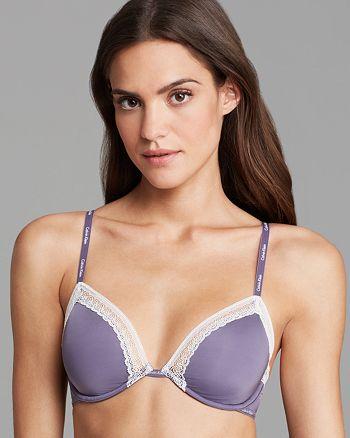 5360feafe0 Calvin Klein Underwear Underwire Bra - Perfectly Fit Sexy Signature ...