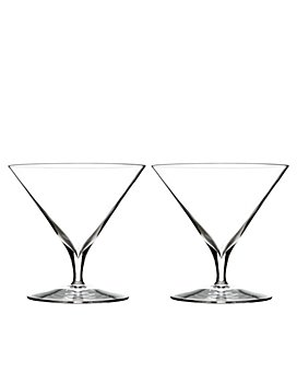 Waterford - Elegance Martini Glass, Pair