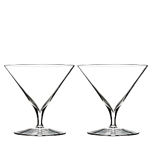 Waterford Elegance Martini Glass, Pair