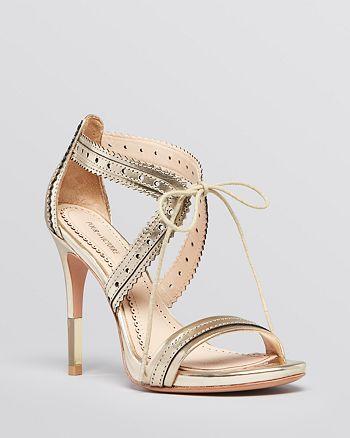 Pour La Victoire - Open Toe Platform Sandals - Shanna High-Heel
