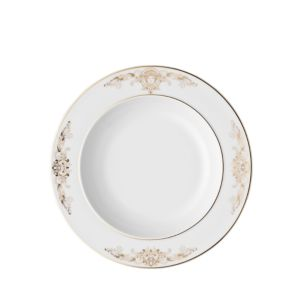 Rosenthal Meets Versace Medusa Gala Rimmed Soup Bowl