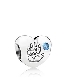 Pandora - Sterling Silver & Cubic Zirconia Baby Boy Charm