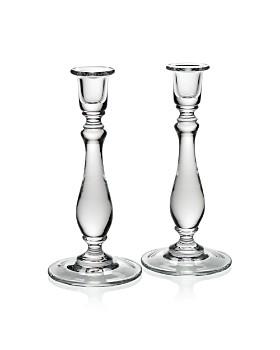 William Yeoward Crystal - Meryl Candlesticks, Set of 2
