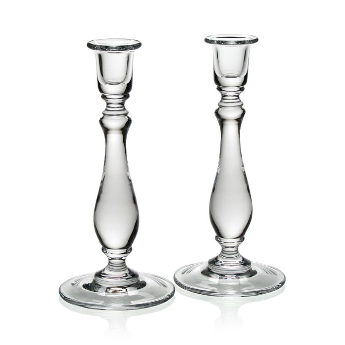 William Yeoward Crystal - Meryl Candlesticks, Set of 2