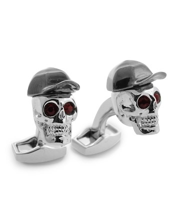 $Tateossian Hip Hop Skull Cufflinks - Bloomingdale's