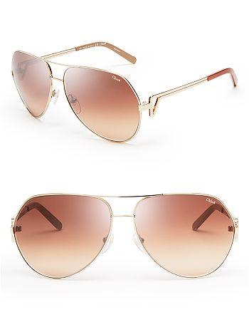 Chloé - Women's Arrow Aviator Sunglasses