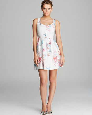 FRENCH CONNECTION - Fast Genevieve Floral Dress