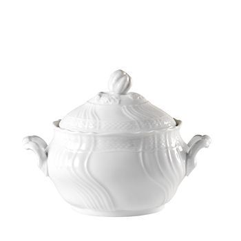 Richard Ginori - Vecchio White Oval Sugar Bowl