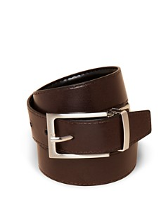 Bloomingdale's Boys Calfskin Reversible Belt, Little Kid, Big Kid - 100% Exclusive_0