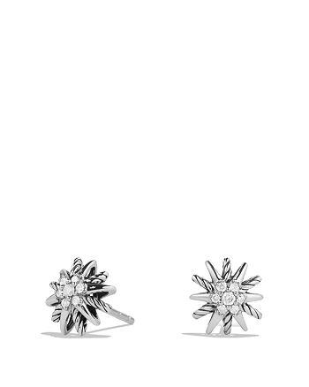David Yurman - Starburst Earrings with Diamonds