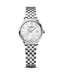 Raymond Weil Toccata Stainless Steel Watch with Diamonds, 29mm - Bloomingdale's_0