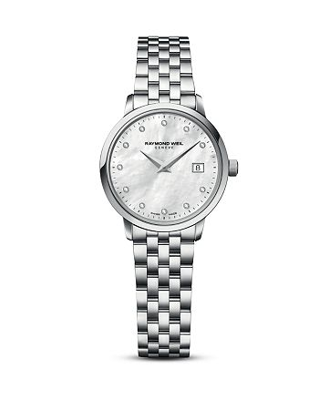 Raymond Weil - Toccata Stainless Steel Watch with Diamonds, 29mm