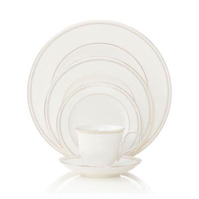 """Pearl Platinum"" 13"" Oval Platter"