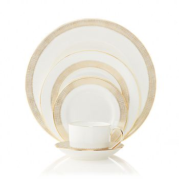 Wedgwood - Gilded Weave 5-Piece Place Setting