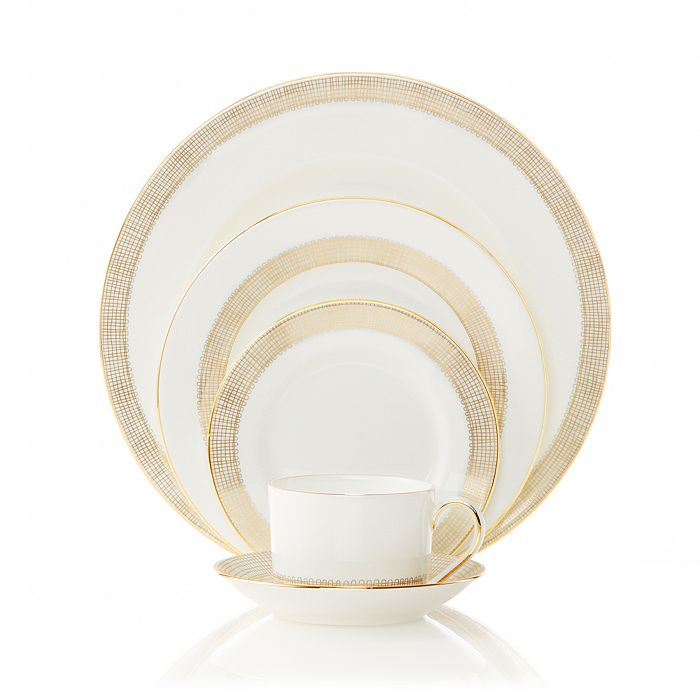 Vera Wang - Gilded Weave Dinnerware Collection