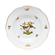 Herend - Rothschild Bird Rimmed Soup Bowl, Motif #9