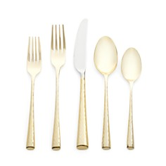 Marchesa by Lenox Imperial Caviar Gold Flatware - Bloomingdale's_0