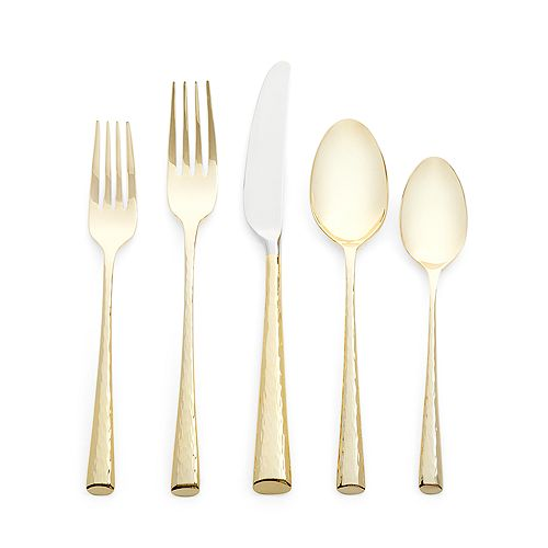Marchesa by Lenox - Imperial Caviar Gold Flatware