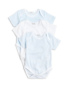 Kissy Kissy - Boys' Stripe & Solid Bodysuit, 3 Pack - Baby