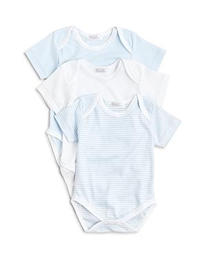 Kissy Kissy Boys Stripe  Solid Bodysuit 3 Pack  Baby