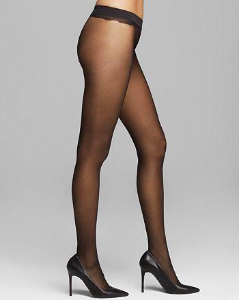 1b55a9f12eab2 Calvin Klein Calvin Klein Sheer Essentials Seamless Tights ...