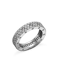 Roberto Coin 18k White Gold Pois Moi Diamond Pavé Ring Bloomingdale S 0