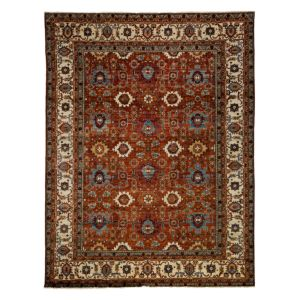 Adina Collection Oriental Rug, 9'1 x 12'