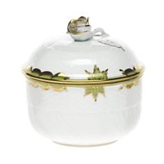 Herend Princess Victoria Green Covered Sugar Bowl - Bloomingdale's_0