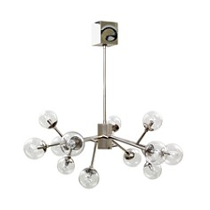 Mitchell Gold + Bob Williams Polished Nickel Savoy Pendant - Bloomingdale's_0
