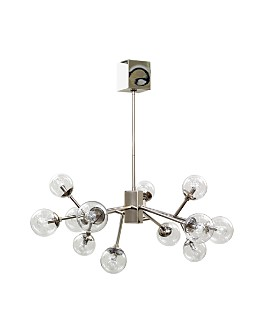 Mitchell Gold Bob Williams - Polished Nickel Savoy Pendant