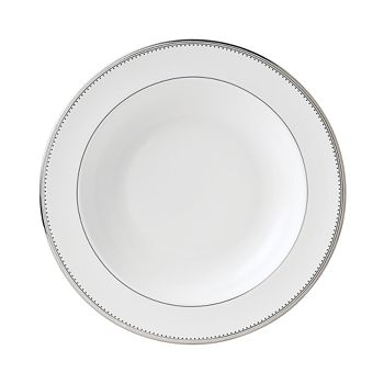 "Vera Wang - for Wedgwood ""Grosgrain"" Pasta Plate"