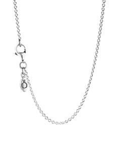 PANDORA Sterling Silver Chain Necklace - Bloomingdale's_0