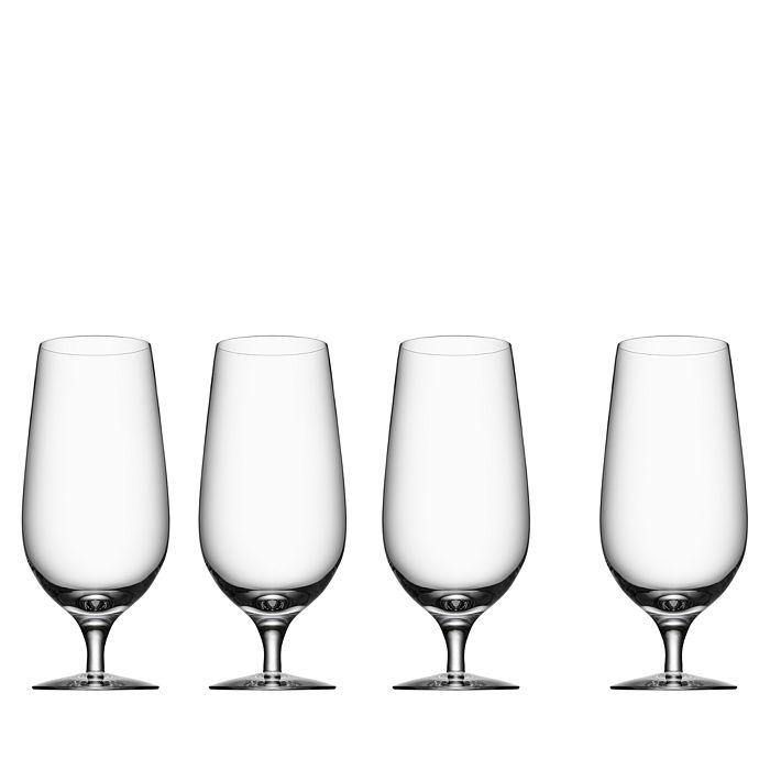 Orrefors - Beer Collection Lager Glass, Set of 4