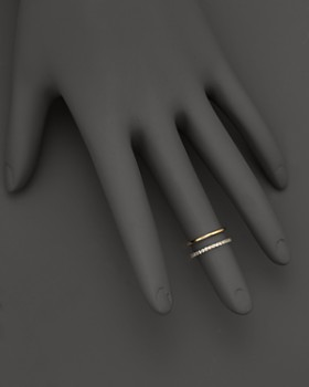 KC Designs - Double Row Midi Ring in 14K Gold
