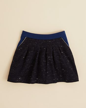 Chloé - Girls' Piped Tweed Skirt - Little Kid