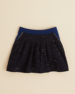 Chloe Girls' Piped Tweed Skirt - Little Kid