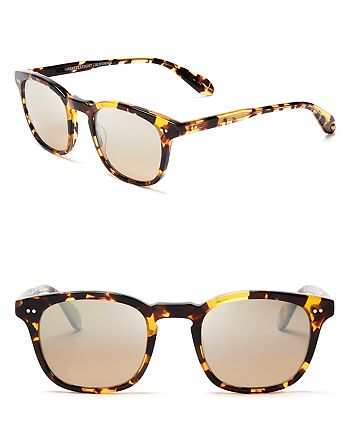 GARRETT LEIGHT - Unisex Dudley Mirrored Sunglasses - 100% Exclusive