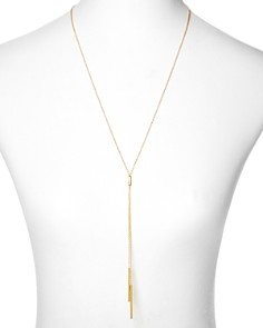 Gorjana - Mave Lariat Necklace, 18.5""
