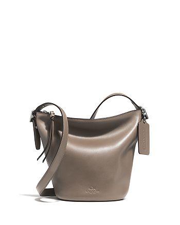 COACH - Bleecker Mini Duffel Bag in Glovetanned Leather