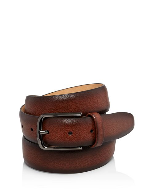 The Men's Store at Bloomingdale's - Park Ave Leather Belt - 100% Exclusive
