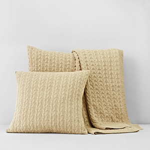 1872 Cable-Knit Euro Sham - 100% Exclusive