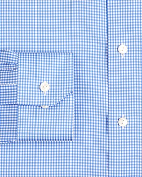 Eton - Mini Gingham Check Regular Fit Dress Shirt