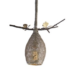 Michael Aram Extra Small Cocoon Pendant Lamp - Bloomingdale's_0