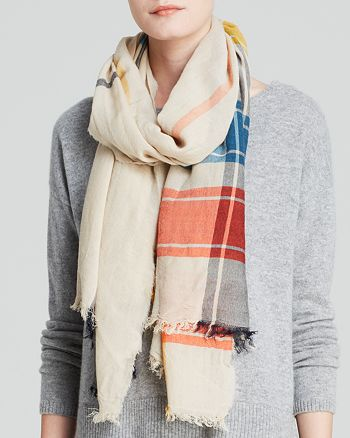 MARC JACOBS - Athletic Check Scarf