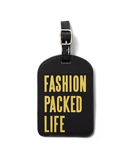 Bloomingdale's - Fashion Packed Life Luggage Tag - 100% Exclusive