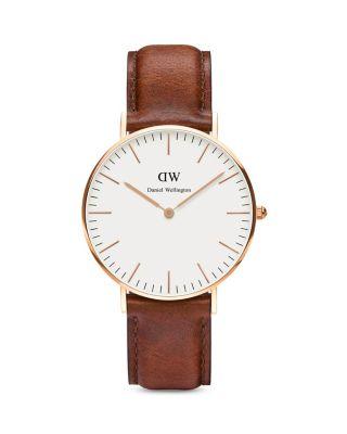 $Daniel Wellington Classic St. Andrews Watch, 36mm - Bloomingdale's