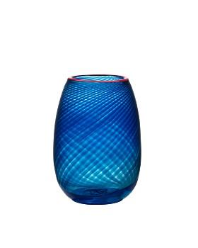 Kosta Boda - Red Rim Small Vase