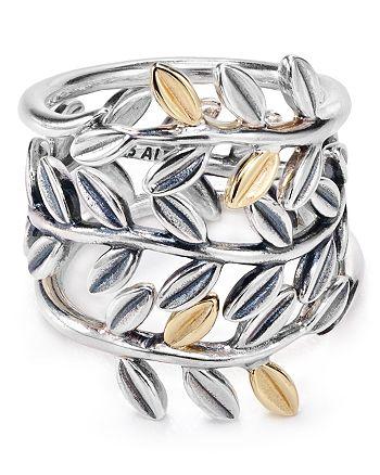 393810f45 Pandora Laurel Leaves Rings | Bloomingdale's
