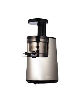 Hurom - Hurom Elite Slow Juicer Model HH-SBB, Noble Silver with Cookbook