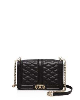 $Rebecca Minkoff Quilted Love Crossbody - Bloomingdale's